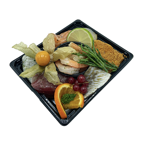 Luxe gourmet-fondue schotel (per persoon)