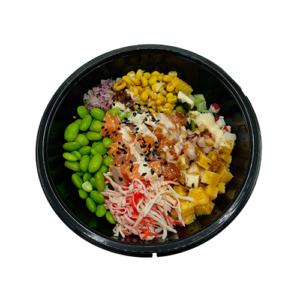 Poké bowl zalm