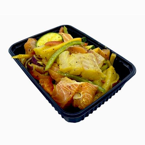 Roerbakschotel met kerrie marinade (400 gram)