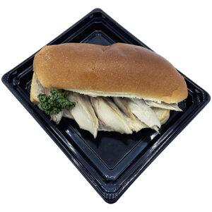 Broodje gestoomde makreel