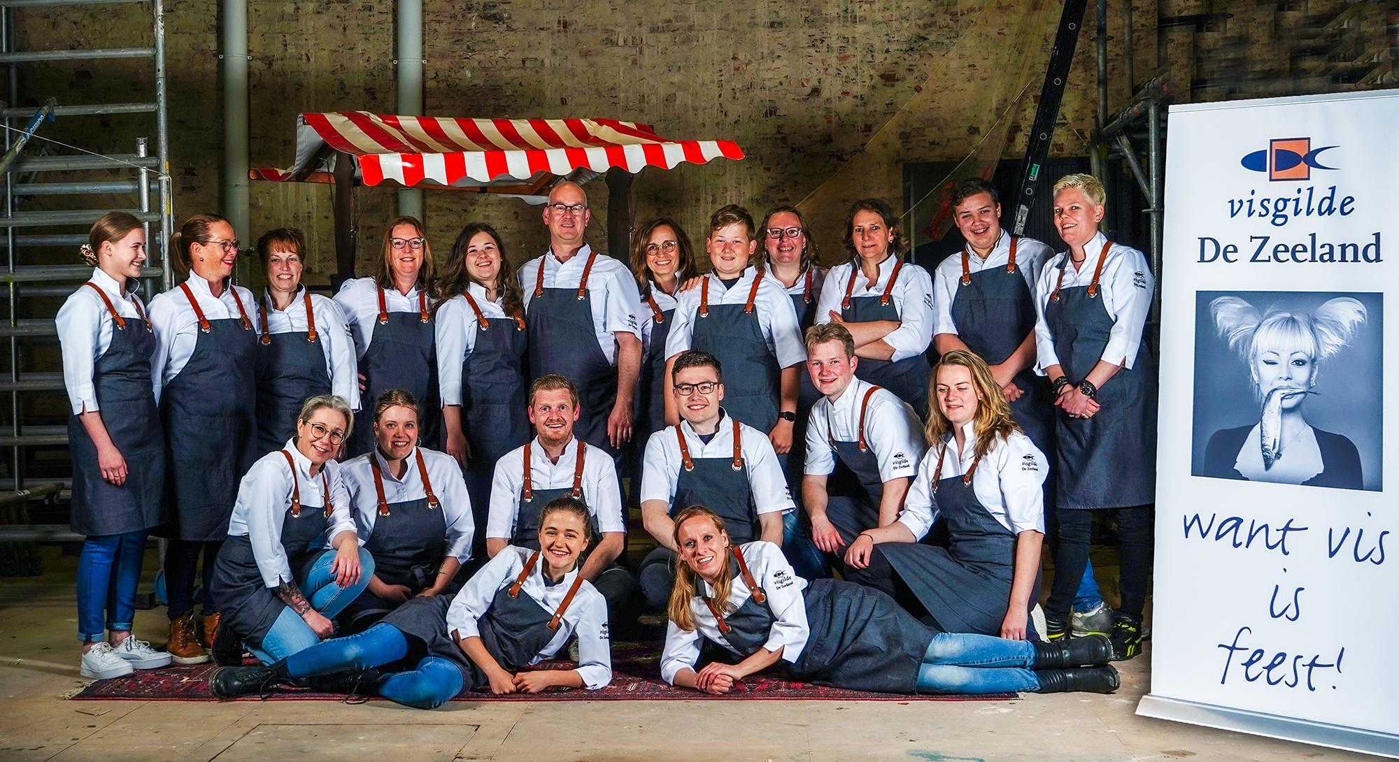Team Visgilde Bergen op Zoom